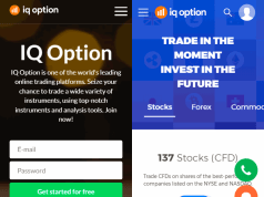 5 new iqoption optimised mobile landing pages 1