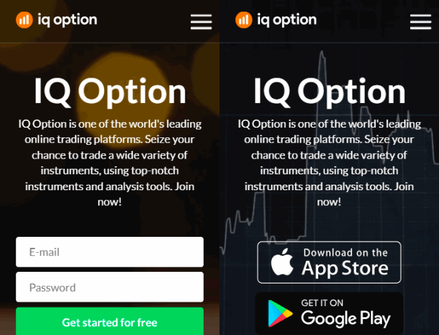5 new iqoptoin optimised mobile landing pages 2