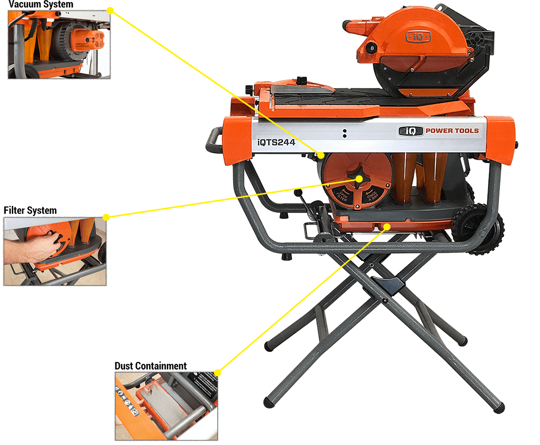 dustless tile saw for contractors