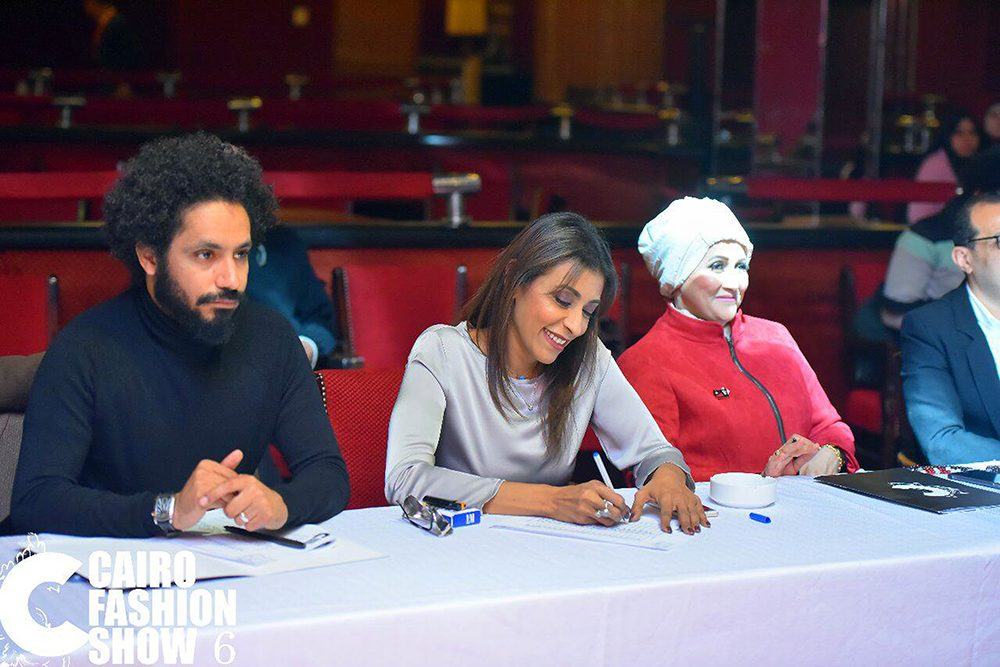مصممة سعودية عضو في لجنة تحكيم  cairo fashion show 6
