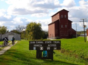 Illinois & Michigan Canal Tow Path – biking, snowmobiling