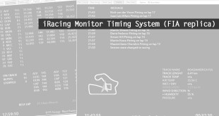 iRacing Monitor Timing System (FIA replica)