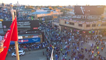 Wrigleyville Crowds