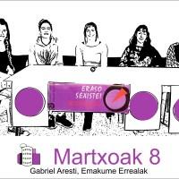 """Martxoak 8 """"feed-back"""""""