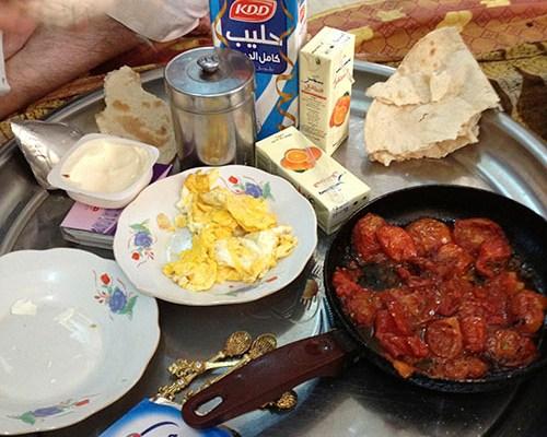 Frukost i Irak (Gejmar, Kahi, Bagilla)