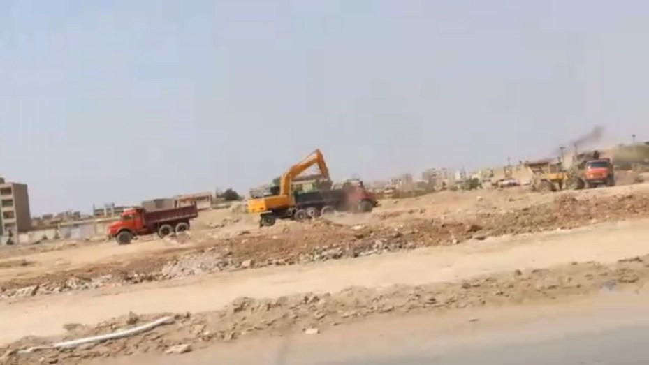Iranian authorities destroy mass grave of victims of the 1988 massacre in Ahvaz
