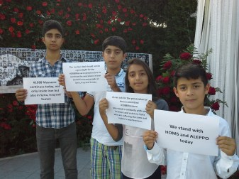 #1988Massacre and solidarity with Syria 1