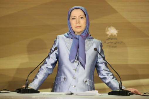 مريم رجوي ندوة الجاليات الايرانية