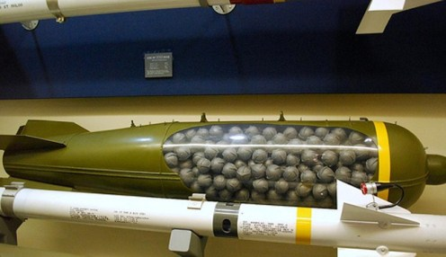 US shipping thousands of cluster bombs to Saudis