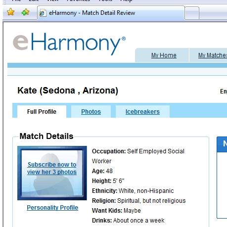 is eharmony religious