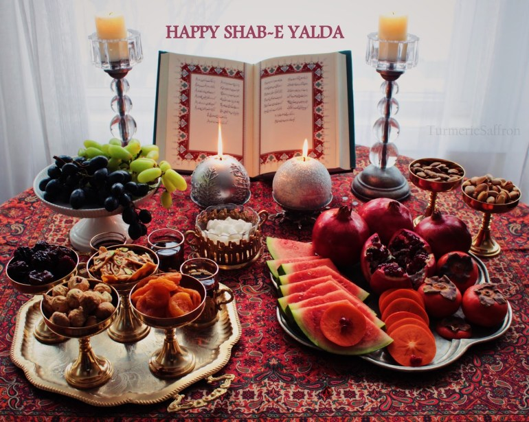 Happy Shab-e Yalda 2017-TurmericSaffron