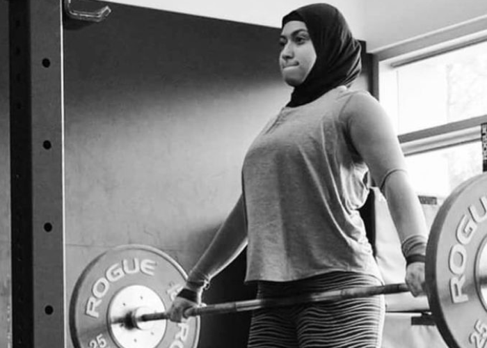 Olympian Amna Al Haddad