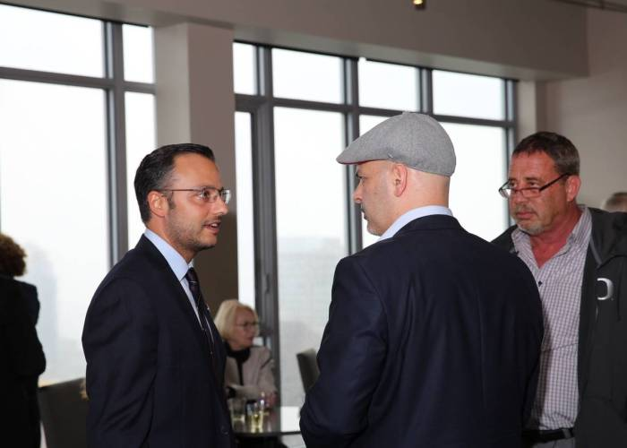NIAC Executive Chair, Ali Youssefi and Saïd Amin