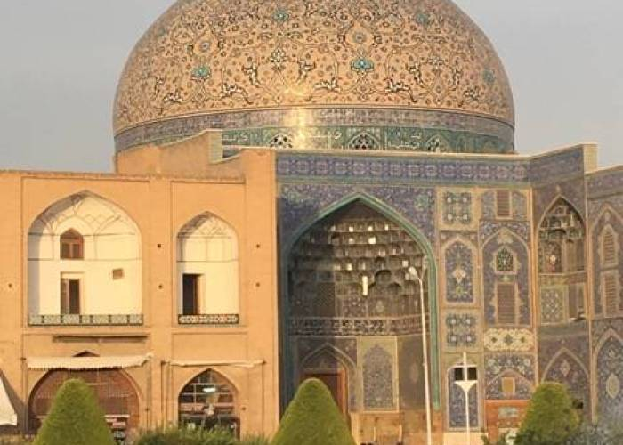 Isfahan picture mosque