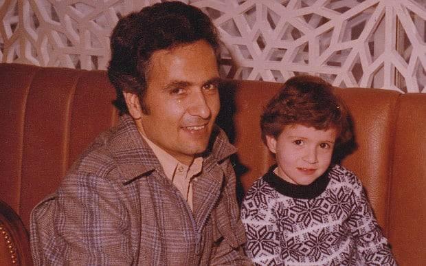 Kamal Foroughi and his son, Kamran