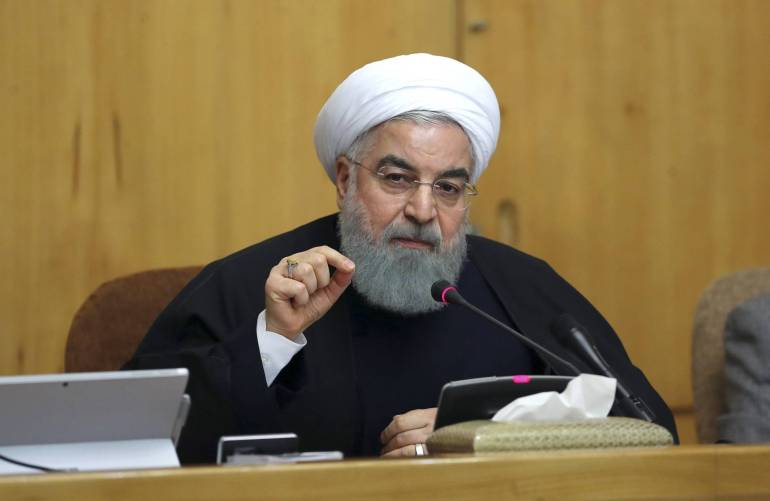 Rouhani addresses Iranian protests
