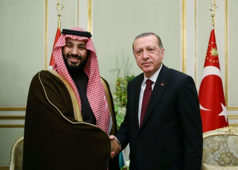 President Recep Tayyip Erdoğan received Saudi Deputy Crown Prince Mohammad bin Salman