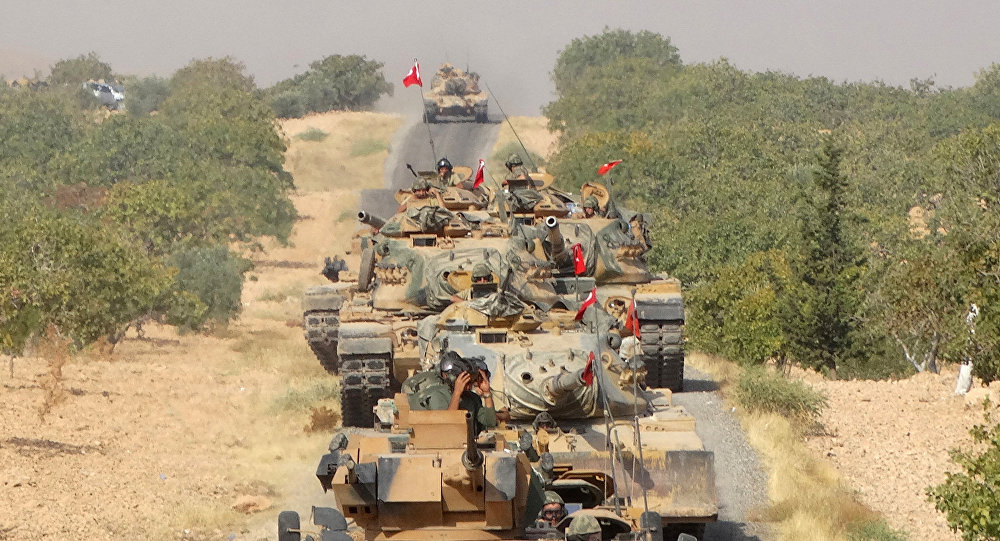 Syrian Turkmen, Arabs welcome, support Turkey's operation against terrorist group