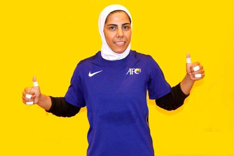 Iranian-futsal-player-Farzaneh-Tavasoli