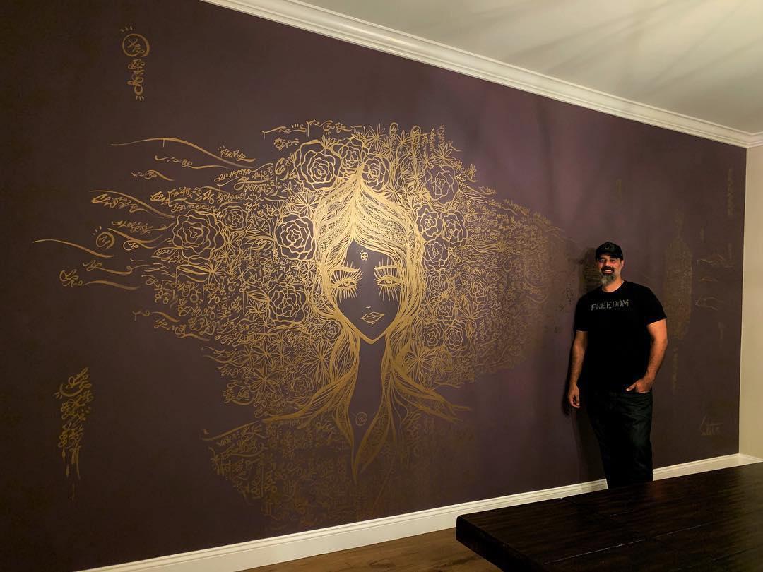 Iranian American Contemporary Artist Ali Sabet & His Love