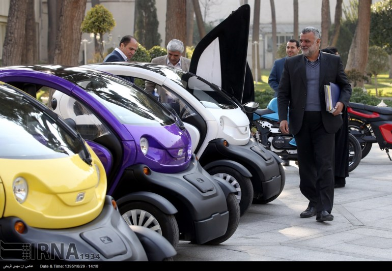 Electric-car-in-Iran