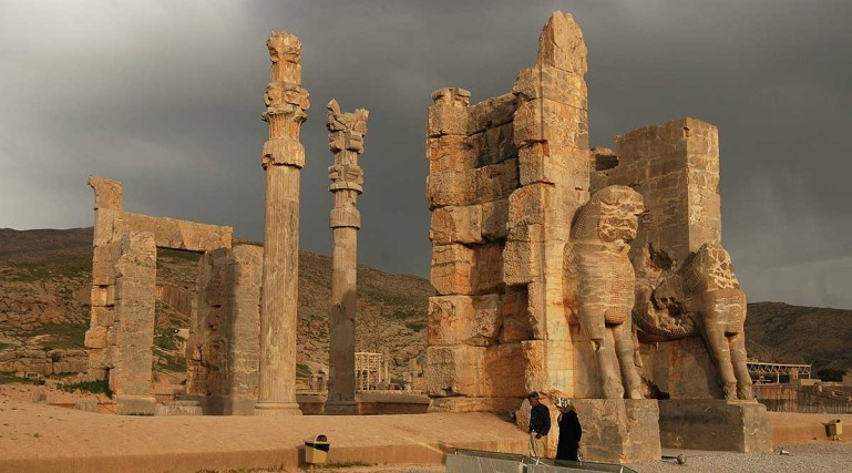 Gate of Xerxes, Persepolis, Iran