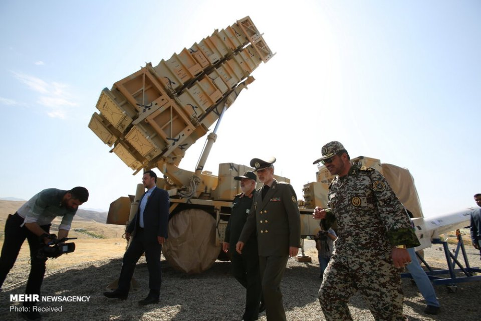 Iran Unveils New Air Defense Missile System Pictures And -5350