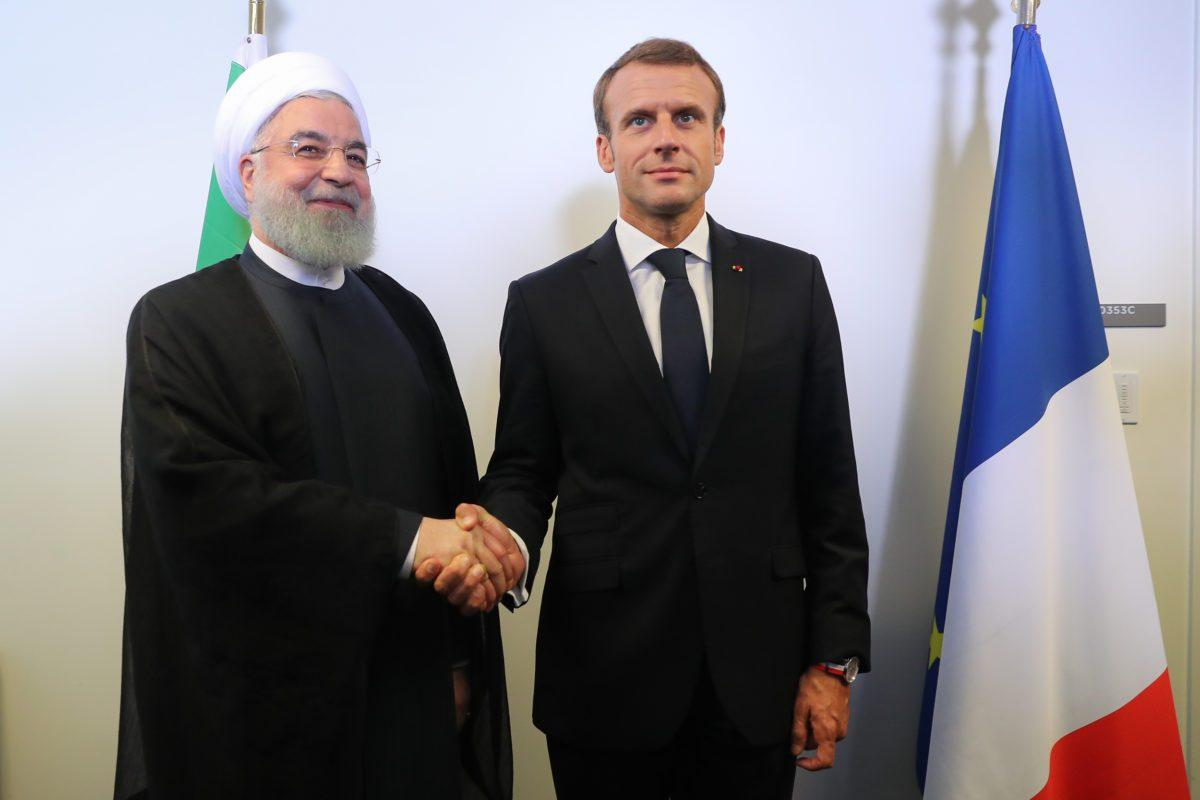 Iranian Foreign Minister Arrives in France