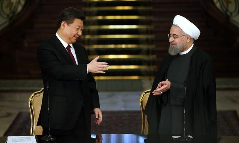 Xi Jinping, Hassan Rouhani