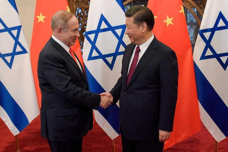 CHINA-ISRAEL-DIPLOMACY