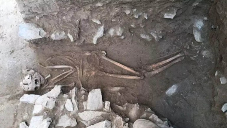 Third-Parthian-skeleton-unearthed-in-Isfahan