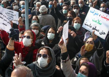 تجمع اعتراضی بازنشستگان تامین اجتماعی در تهران و شهرهای دیگر | ایران  اینترنشنال