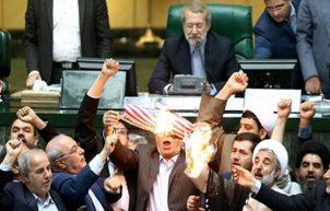 """Bildergebnis für amerikansiche flagge verbrennen iran"""""""