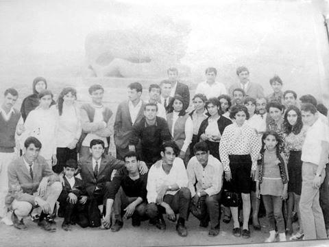 سفرة طلاب قسم التاريخ /كلية الآداب /جامعة بغداد......بصحبة الدكتور سامي سعيد الأحمد عام 1972