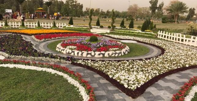 مهرجان الزهور – حديقة الزوراء – بغداد