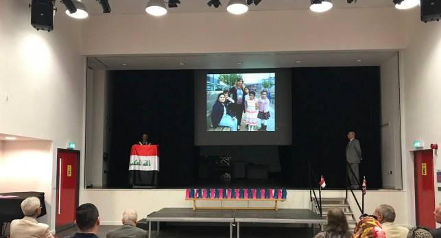 صور الحفل السنوي لمدرسة ويمبلي العربية في لندن
