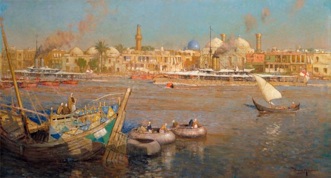 قالوا عن بغداد – محمد مهدي الجواهري