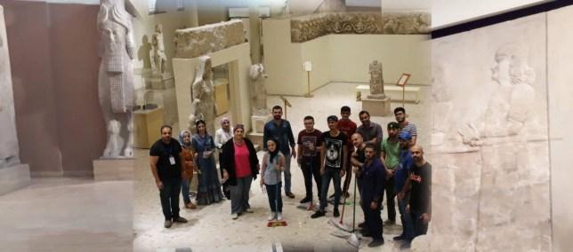 حملة تنظيف المتحف العراقي