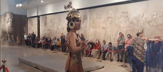 عرض للأزياء التأريخية – المتحف العراقي