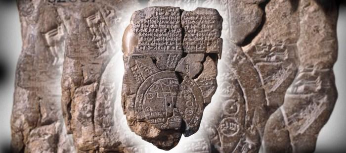 أقدم خارطة في العالم