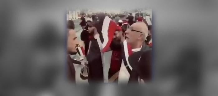 جدال في ساحة التحرير – شوفوا العراقيين