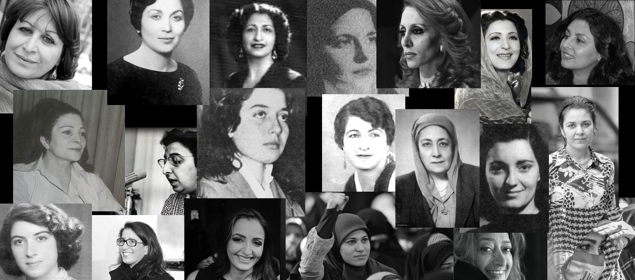 نضال المرأة ومكانتها في الحراك الجماهيري في العالم العربي
