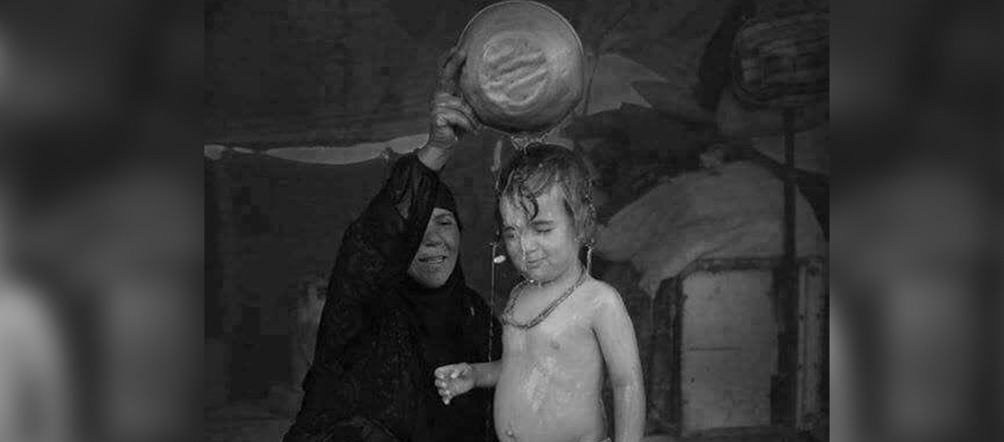 غسلة العيد – الصورة بعدسة كاظم ياسر
