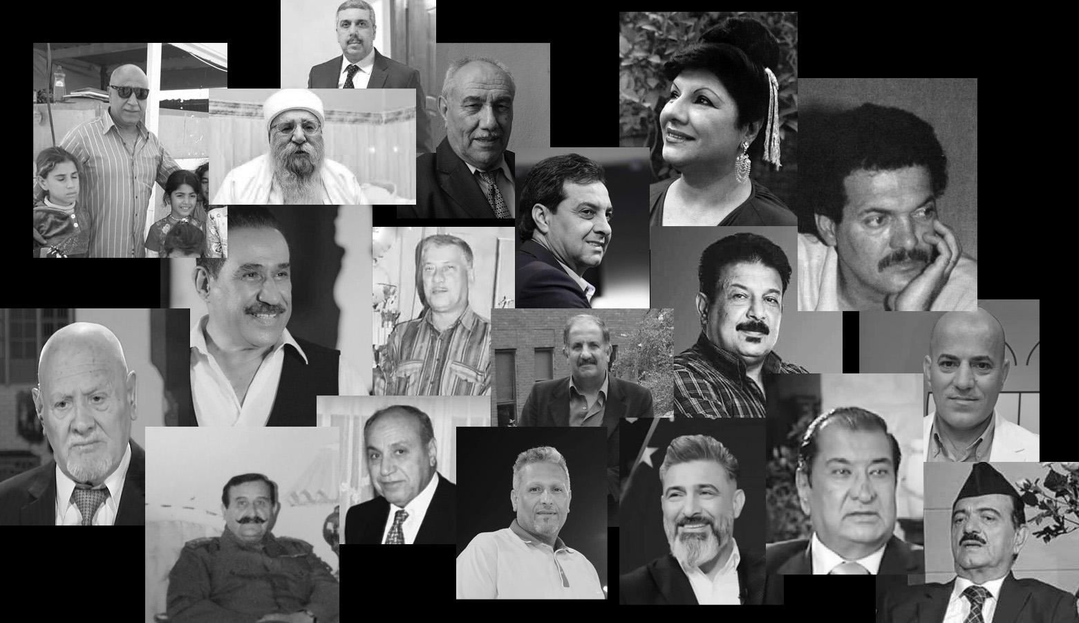شخصيات عراقية بارزة رحلوا في العام 2020