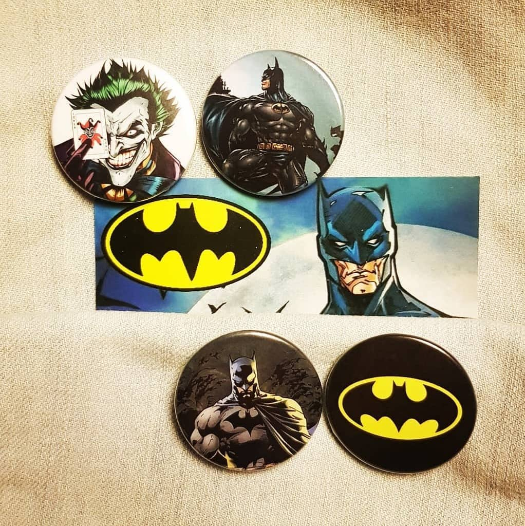 Batman badges