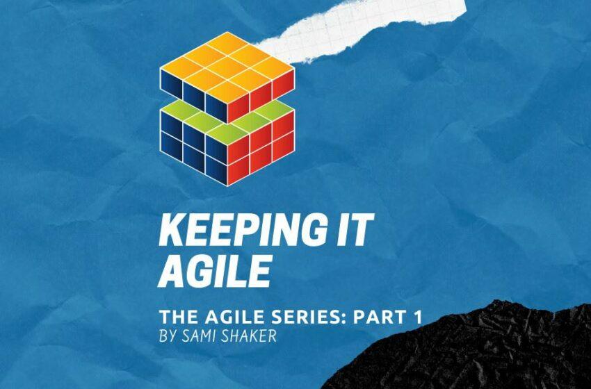 Agile methodology cover photo part 1