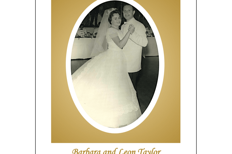 Cover of 50th Wedding Anniversary Party Invitation with Oval Shaped Photo