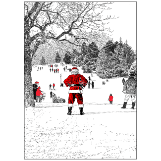 Cover of Holiday Card