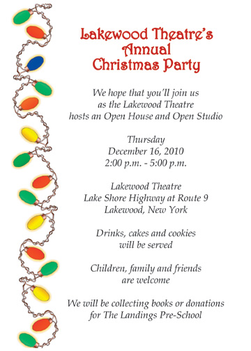 Christmas Party Invitation, CPIT-07