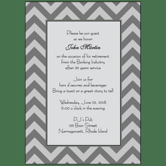Retirement Party Invitation